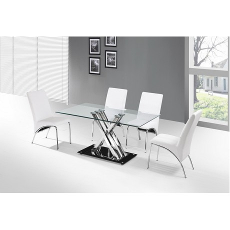 "Glass Table 60""*36"" 1/3cnt"