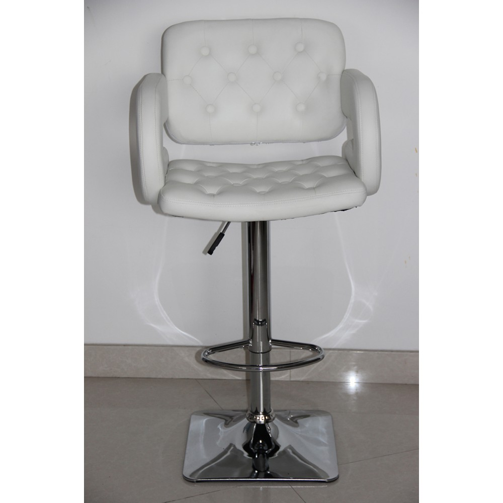 Awesome Bar Stool Pu Seat Chromed Gas Lift And Base Height Evergreenethics Interior Chair Design Evergreenethicsorg