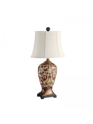 "TaTable Lamp .Oval Soft  back shade ,8/12 *11/16*11.5""H,1 / 1 Box"