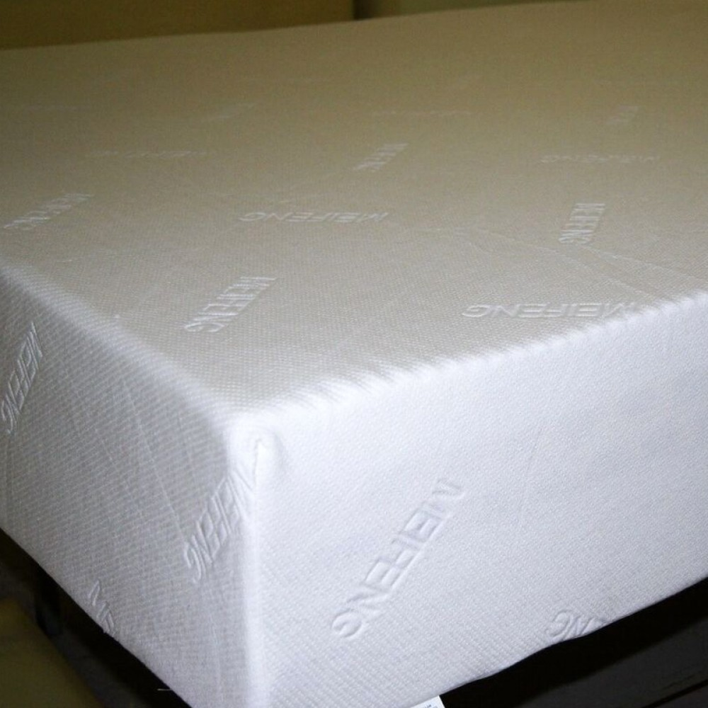 "CA King 2"" 3 LB density memory foam with 8"" 2 LB base foam cover with zipper"