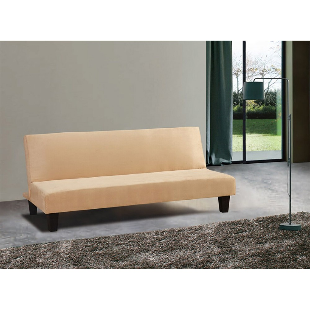 Light Yellow Sofa Bed 68 L