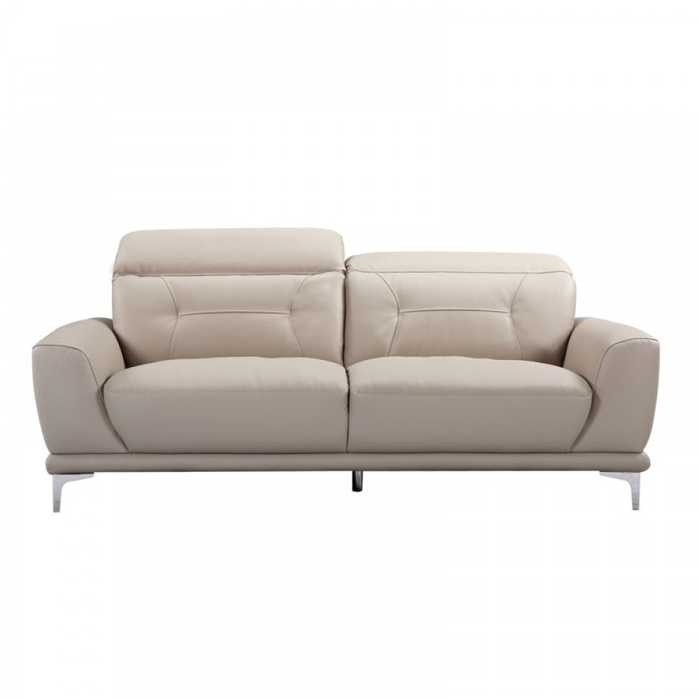 Remarkable Air Leather Fabric Sofa 80 32 40 55 31 5 36 7H Grey Color Squirreltailoven Fun Painted Chair Ideas Images Squirreltailovenorg